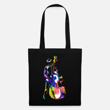 Double Bass double bass - Tote Bag