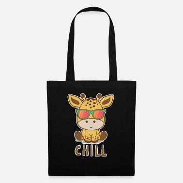 Pause Giraffe chilling - Tote Bag