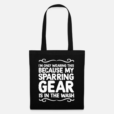 Big Sister The Fighter's Sparring Tshirt Design SPARRING GEAR - Tote Bag