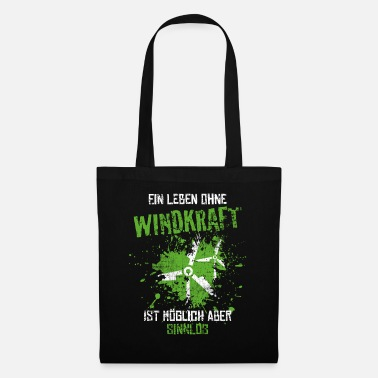 Co2 wind power - Tote Bag