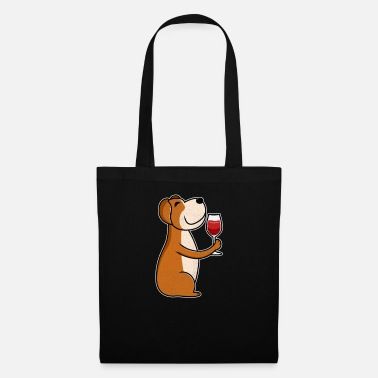 Mistress Wine lovers dog wine lovers & dog lovers - Tote Bag
