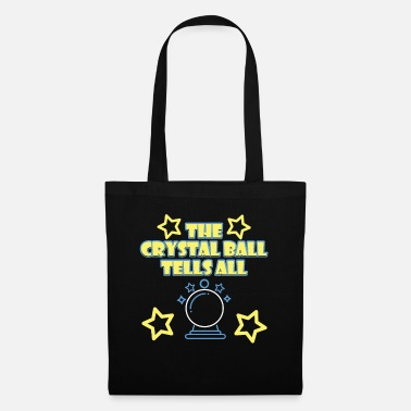 Psychic Your Friendly Psychic Tshirt Design crystal ball - Tote Bag