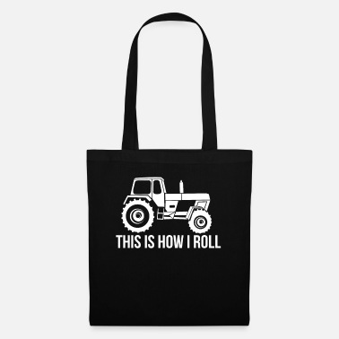 Pretty Farmer farmer tractor agricultural machinery DDR gift - Tote Bag