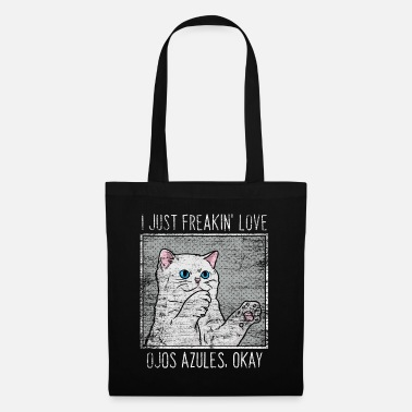 Be A Dad Ojos Azules cat - Tote Bag