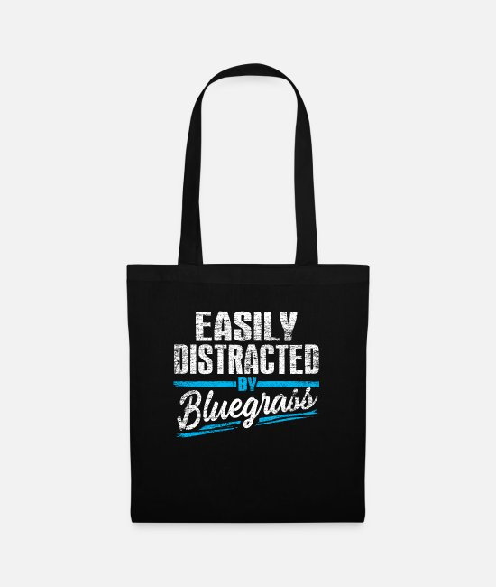 Music Bags & Backpacks - Bluegrass - Tote Bag black