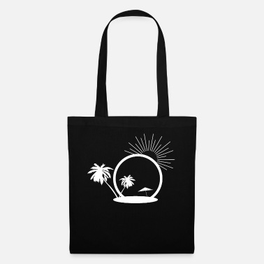 Beach Umbrella Beach summer sun - Tote Bag