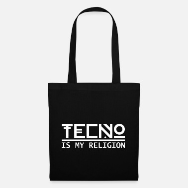 Rave Techno Is My Religion - Tote Bag
