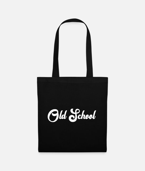 Usa Bags & Backpacks - old school - Tote Bag black