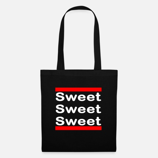 Stylish Bags & Backpacks - Sweet Sweet Sweet !!! - Tote Bag black