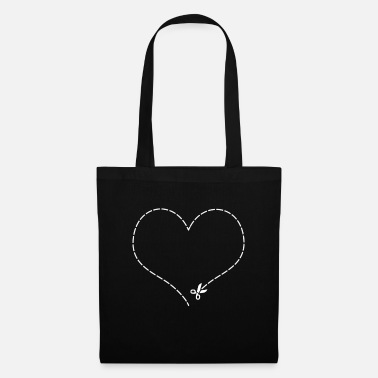 Cut Out Heart to cut out - Tote Bag