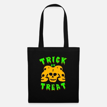 Trick Or Treat Trick or treating! Trick or treat! - Tote Bag