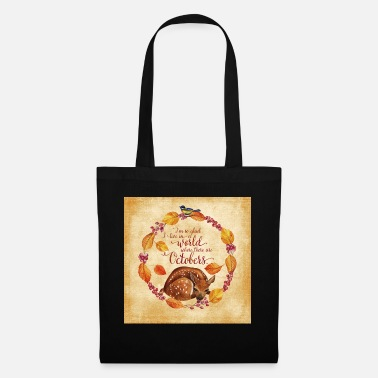 Autumn Autumn Friends - October - Fawn - Tote Bag
