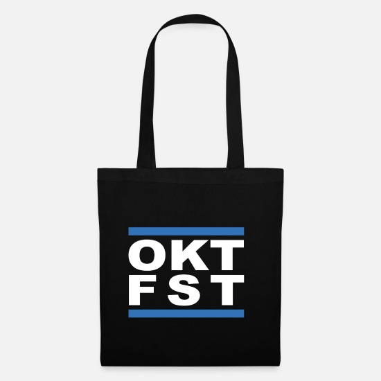 Love Bags & Backpacks - OCT FST = Oktoberfest - Tote Bag black