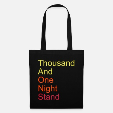 Valentijnsdag thousand and one night stand 3colors - Stoffentas