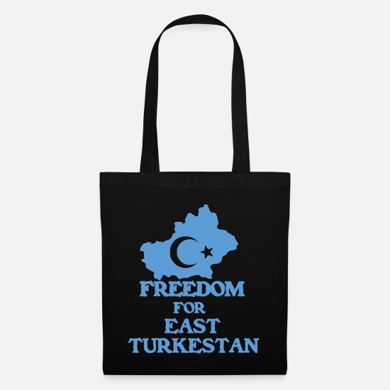 East Bags & Backpacks - Freedom East Turkestan - Tote Bag black