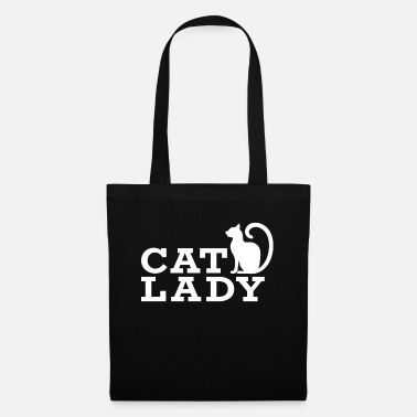 Ladies Cat Cat lady .. cats lady .. cats .. kitty - Tote Bag