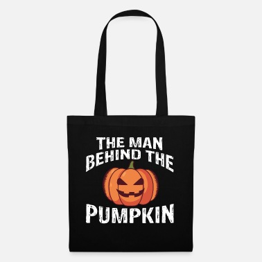 The man behind the pumpkin - Tote Bag