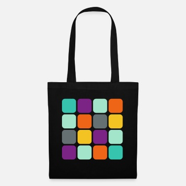 Square Rounded square in square - Tote Bag