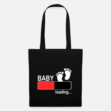 Angel Pregnant mother women baby son daughter - Tote Bag
