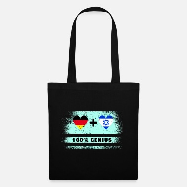 Team Spirit Germany and Israel 100% awesome / gift - Tote Bag