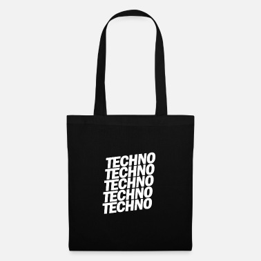 Smoking TECHNO TECHNO TECHNO - Tote Bag
