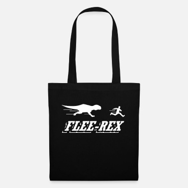 Flee Flee Rex - Tote Bag