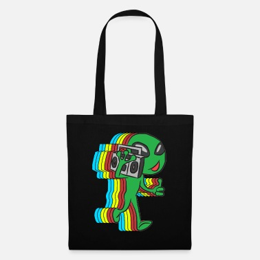 Retro alien - Tote Bag