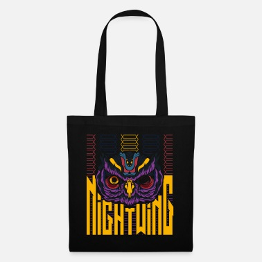 Trendy Nightwing Owl Trendy - Tote Bag