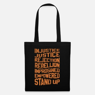 Rebellion INJUSTICE REBELLION EMPOWERED - Tote Bag