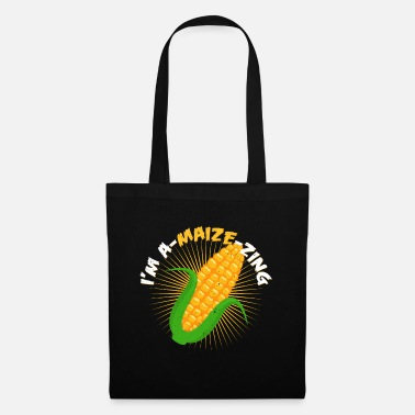 Maize I'm A-Maize-Zing | Corn vegan vegetarian gift - Tote Bag