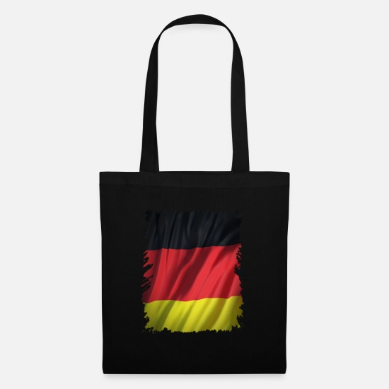 Federal Republic Of Germany Bags & Backpacks - Germany flag - banner - Germany flag - Tote Bag black