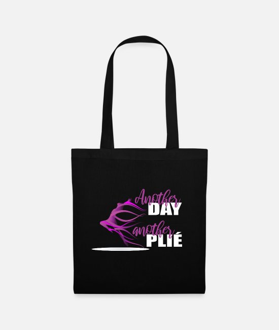 Festival Bags & Backpacks - Great Another Plie W Dance Shirt Gift Tee - Tote Bag black