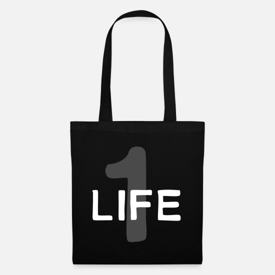 Birthday Bags & Backpacks - Life - Tote Bag black