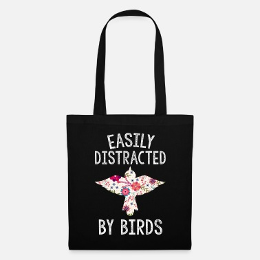 Lover Easily Distracted by Birds Bird Lover Birder Gifts - Tote Bag