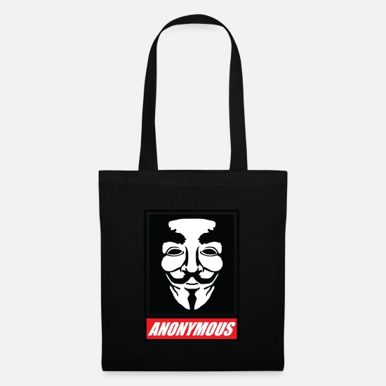 Agent Bags & Backpacks - Anonymous - Tote Bag black