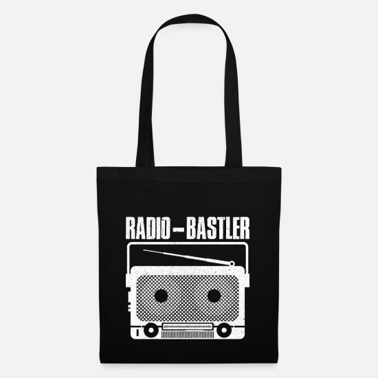 Repair Bags & Backpacks - Radio hobbyist - Tote Bag black
