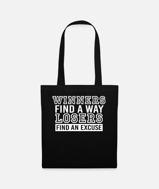 Training Bags & Backpacks - motivation - Tote Bag black