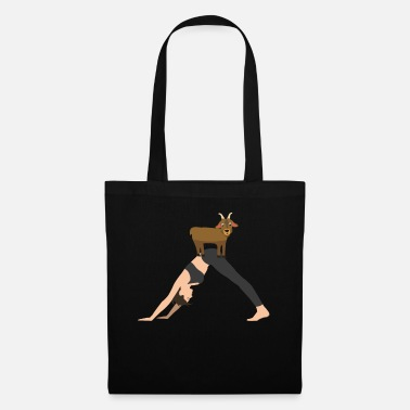 Goat Yoga Goat Namaste Meditation Exercise Animal Relax - Tote Bag