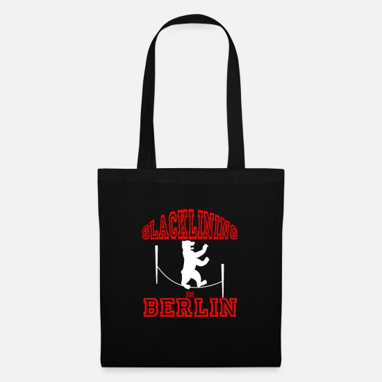 Berlin Bags & Backpacks - Slacklining Berlin Trendsport - Tote Bag black