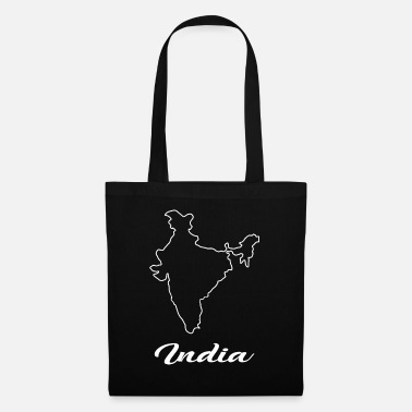 Map India Map Map - Tote Bag