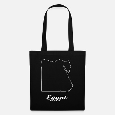 Map Egypt map map - Tote Bag