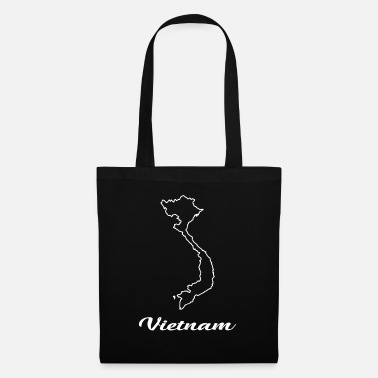 Map Vietnam map map - Tote Bag