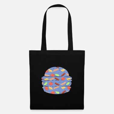Pattern BURGER ~ pattern fast food hamburger - Tote Bag