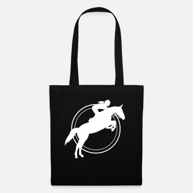 Show Jumping Show Jumping Western - Tote Bag
