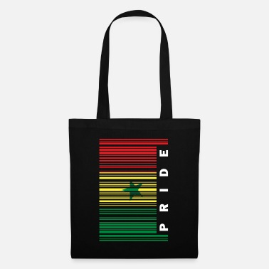 Senegal Senegal flag pride barcode - Tote Bag