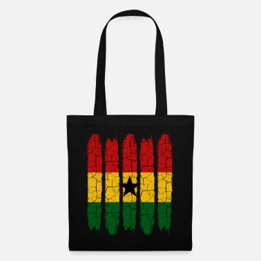 Patriot Trendiga Ghana Modern National Colors Country Gift - Tygväska