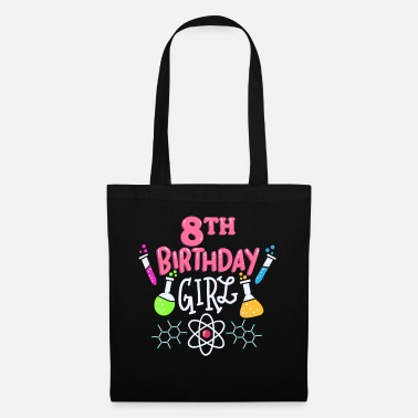 Element 8th birthday science - Tote Bag