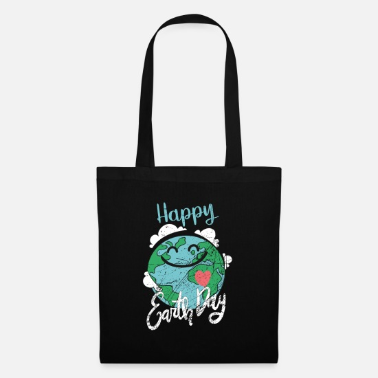 Gift Idea Bags & Backpacks - Earth Day - Earth Day - Tote Bag black