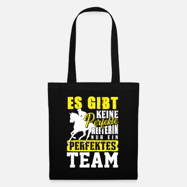 Riding School Horsewoman riding team horse dresssur riding school - Tote Bag