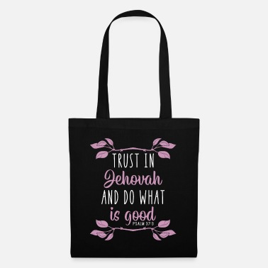 Prayer Jehovah's Witness God JHWH Christ Bible gift - Tote Bag